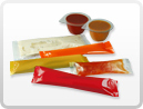 Sachets, portion pots and stick packs